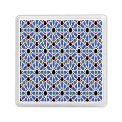 Background Pattern Geometric Memory Card Reader (Square)  by Amaryn4rt