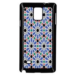 Background Pattern Geometric Samsung Galaxy Note 4 Case (black) by Amaryn4rt