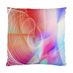 Background Nebulous Fog Rings Standard Cushion Case (two Sides) by Amaryn4rt