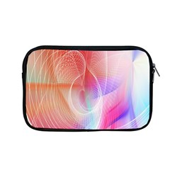 Background Nebulous Fog Rings Apple Macbook Pro 13  Zipper Case by Amaryn4rt