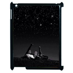 Frontline Midnight View Apple Ipad 2 Case (black) by FrontlineS