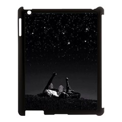 Frontline Midnight View Apple Ipad 3/4 Case (black) by FrontlineS