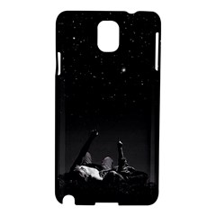 Frontline Midnight View Samsung Galaxy Note 3 N9005 Hardshell Case by FrontlineS