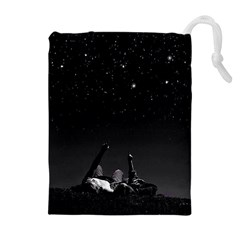 Frontline Midnight View Drawstring Pouches (extra Large) by FrontlineS