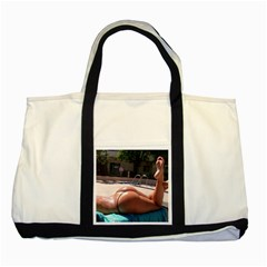 Very Appealing Image  Two Tone Tote Bag by FrontlineS