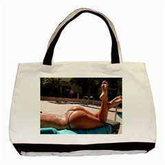 Very Appealing Image  Basic Tote Bag (Two Sides) by FrontlineS