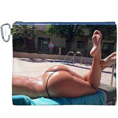 Very Appealing Image  Canvas Cosmetic Bag (xxxl) by FrontlineS
