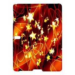 Background Pattern Lines Oval Samsung Galaxy Tab S (10.5 ) Hardshell Case  by Amaryn4rt