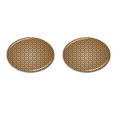 Background Seamless Repetition Cufflinks (oval) by Amaryn4rt
