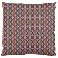 Background Pattern Texture Large Flano Cushion Case (one Side) by Amaryn4rt