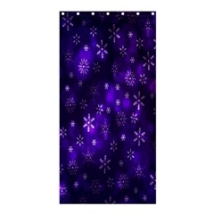 Bokeh Background Texture Stars Shower Curtain 36  X 72  (stall)  by Amaryn4rt