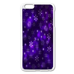 Bokeh Background Texture Stars Apple Iphone 6 Plus/6s Plus Enamel White Case by Amaryn4rt