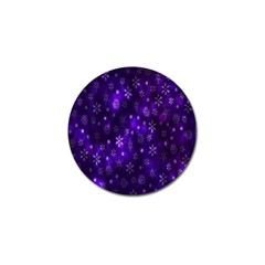 Bokeh Background Texture Stars Golf Ball Marker (10 Pack) by Amaryn4rt
