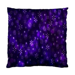 Bokeh Background Texture Stars Standard Cushion Case (one Side) by Amaryn4rt