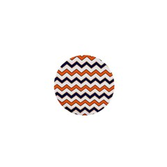 Chevron Party Pattern Stripes 1  Mini Magnets by Amaryn4rt