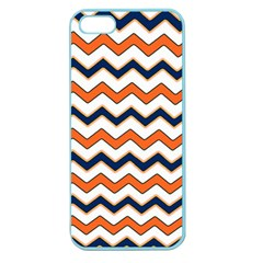 Chevron Party Pattern Stripes Apple Seamless Iphone 5 Case (color)