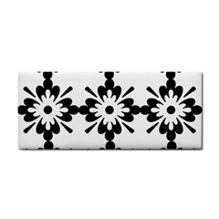 Floral Illustration Black And White Cosmetic Storage Cases by Amaryn4rt