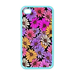 Floral Pattern Apple Iphone 4 Case (color) by Amaryn4rt