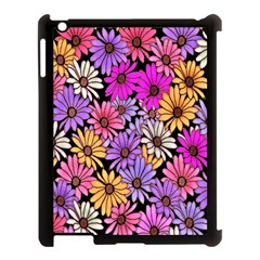Floral Pattern Apple Ipad 3/4 Case (black) by Amaryn4rt