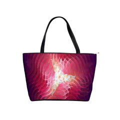 Fractal Red Sample Abstract Pattern Background Shoulder Handbags by Amaryn4rt