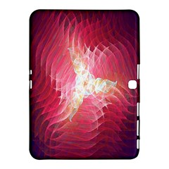 Fractal Red Sample Abstract Pattern Background Samsung Galaxy Tab 4 (10 1 ) Hardshell Case  by Amaryn4rt