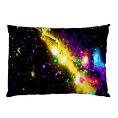 Galaxy Deep Space Space Universe Stars Nebula Pillow Case by Amaryn4rt