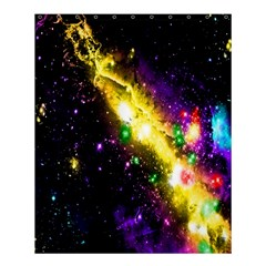 Galaxy Deep Space Space Universe Stars Nebula Shower Curtain 60  X 72  (medium)  by Amaryn4rt