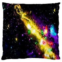 Galaxy Deep Space Space Universe Stars Nebula Standard Flano Cushion Case (two Sides) by Amaryn4rt