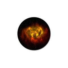 Galaxy Nebula Space Cosmos Universe Fantasy Golf Ball Marker (10 Pack) by Amaryn4rt