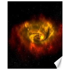 Galaxy Nebula Space Cosmos Universe Fantasy Canvas 11  X 14   by Amaryn4rt