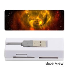 Galaxy Nebula Space Cosmos Universe Fantasy Memory Card Reader (stick)  by Amaryn4rt