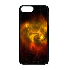Galaxy Nebula Space Cosmos Universe Fantasy Apple Iphone 7 Plus Seamless Case (black) by Amaryn4rt
