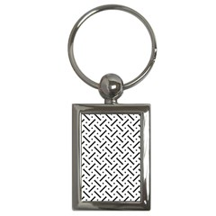Geometric Pattern Key Chains (rectangle)  by Amaryn4rt