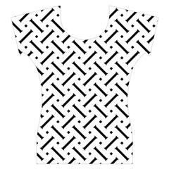 Geometric Pattern Women s Cap Sleeve Top by Amaryn4rt