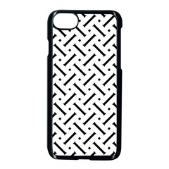 Geometric Pattern Apple Iphone 7 Seamless Case (black) by Amaryn4rt