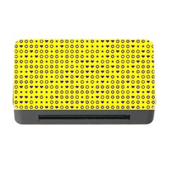 Heart Circle Star Seamless Pattern Memory Card Reader With Cf by Amaryn4rt