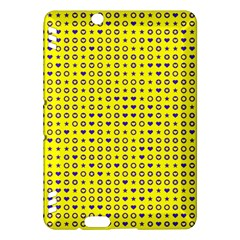 Heart Circle Star Seamless Pattern Kindle Fire Hdx Hardshell Case by Amaryn4rt