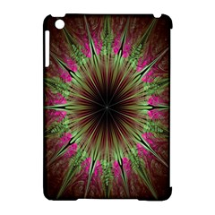 Julian Star Star Fun Green Violet Apple Ipad Mini Hardshell Case (compatible With Smart Cover) by Amaryn4rt