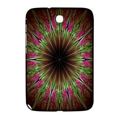 Julian Star Star Fun Green Violet Samsung Galaxy Note 8 0 N5100 Hardshell Case  by Amaryn4rt