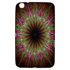 Julian Star Star Fun Green Violet Samsung Galaxy Tab 3 (8 ) T3100 Hardshell Case  by Amaryn4rt