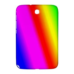 Multi Color Rainbow Background Samsung Galaxy Note 8 0 N5100 Hardshell Case  by Amaryn4rt