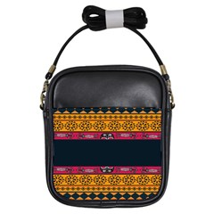 Pattern Ornaments Africa Safari Summer Graphic Girls Sling Bags