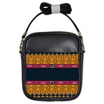 Pattern Ornaments Africa Safari Summer Graphic Girls Sling Bags Front