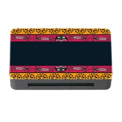 Pattern Ornaments Africa Safari Summer Graphic Memory Card Reader With Cf by Amaryn4rt