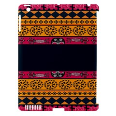 Pattern Ornaments Africa Safari Summer Graphic Apple Ipad 3/4 Hardshell Case (compatible With Smart Cover)