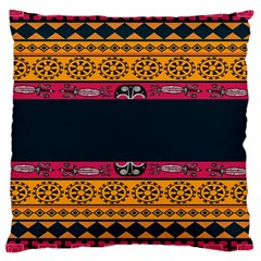 Pattern Ornaments Africa Safari Summer Graphic Large Cushion Case (one Side)