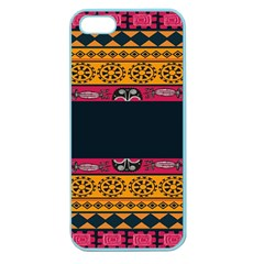 Pattern Ornaments Africa Safari Summer Graphic Apple Seamless Iphone 5 Case (color) by Amaryn4rt