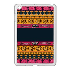 Pattern Ornaments Africa Safari Summer Graphic Apple Ipad Mini Case (white) by Amaryn4rt