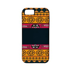 Pattern Ornaments Africa Safari Summer Graphic Apple Iphone 5 Classic Hardshell Case (pc+silicone)