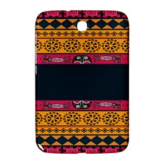 Pattern Ornaments Africa Safari Summer Graphic Samsung Galaxy Note 8 0 N5100 Hardshell Case  by Amaryn4rt